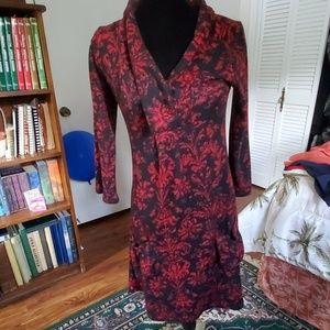 Reborn Dress Size 8 (S) Red & Black